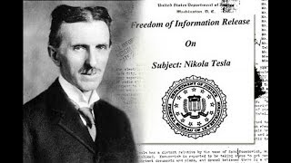 Nikola Tesla - The Missing Papers - FBI Records Released:The Vault - Wireless Electric Transfer