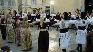 Классный греческий танец. о.Корфу, Керкира(Народный праздник на острове Корфу. Видео с сайта http://doroad.ru/, 2012-07-20T20:36:15.000Z)