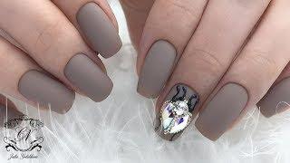 ОГРОМНАЯ и РОСКОШНАЯ ИЗЮМИНКА на ногтях. СВЕРКАЮЩИЙ дизайн ногтей