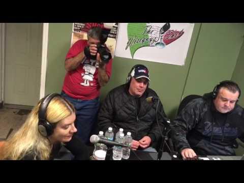 The Wiseguyz in Studio Guest The Horror Queen Genoveva Rossi 3