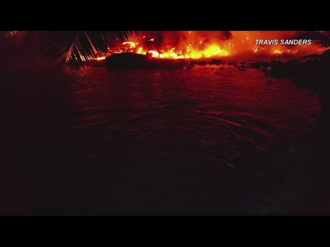 Videos of sea turtles trapped by lava prompts action by DLNR