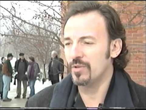 BRUCE SPRINGSTEEN--RAW INTERVIEW FOOTAGE
