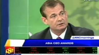 Asia CEO Awards 2013 on Mornings @ANC Image