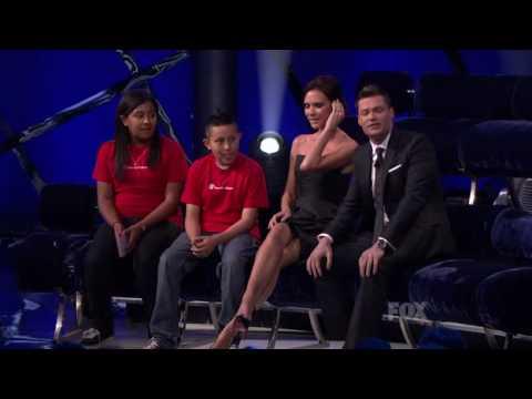 Victoria Beckham Idol Gives Back 22 May 2010