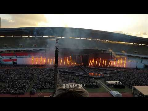 BTS IDOL Comeback Stage @ LOVE YOURSELF WORLD TOUR Seoul Opening Day 1 180825