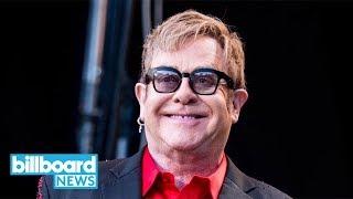Elton John to be Honored by Lady Gaga, Ed Sheeran & More on Album Pair | Billboard News