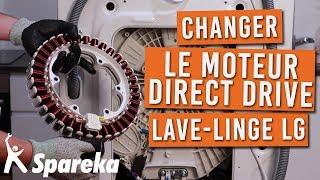 Comment changer le moteur direct drive sur votre machine a laver LG