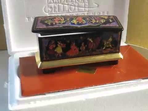 Jewelry Wind Up Music Box The Nutcracker Suite 1892 100th Anniversary Western Europe 1991 Russia