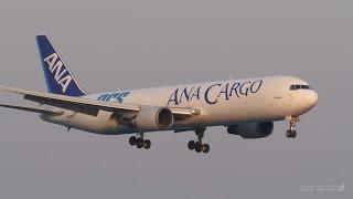 ANAカーゴ(エアージャパン) ボーイング767-300F 関西国際空港 ラン...