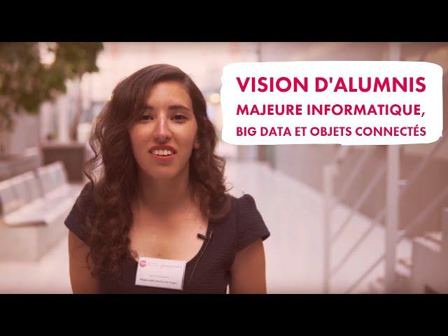 Questions aux alumnis de la majeure Informatique, Big Data et Objets connectés