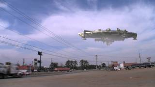 District 9 Spaceship in Lincoln Alabama