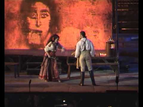 CARMEN - Géraldine Chauvet & Andrew Richards - II Act Duet - Arena di Verona - 29 july 2010