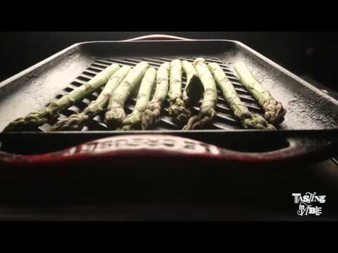How to Make David Bazirgan's Grilled Asparagus | Cooking | Tasting Table