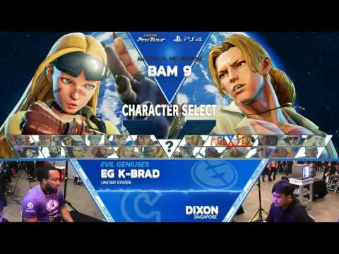 SFV: Battle Arena Melbourne 9 - Pools Part 7 - CPT 2017
