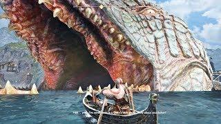 God of War 4 - Gameplay Inside The World Serpent (GoW 2018) PS4 Pro