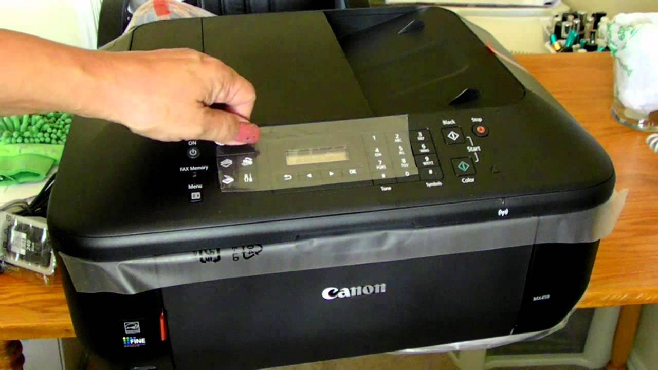 CANON MX459 PRINTER DRIVER FOR PC