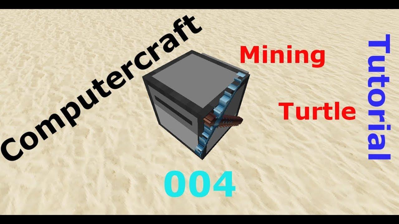 Minecraft Tekkit Computercraft Mining Turtle Tutorial [Deutsch/HD