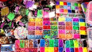 ОБЗОР 8 КГ РЕЗИНОК!!! Распаковка посылки с резинками Rainbow loom + КОНКУРС!