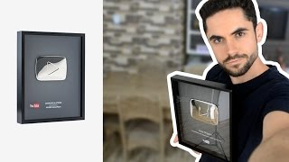 My Youtube Silver Play Button!!! ( Easy Origami )