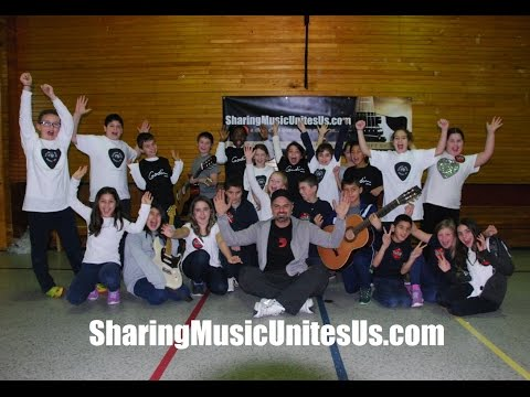 The Sharing Music Unites Us™ cause - Artist JAYE initiates children to diverse styles of music