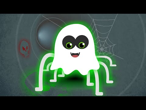 Incy Wincy Spider | Kindergarten Rhymes | Baby Song | Halloween Scary Kids Video