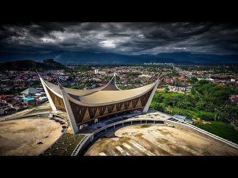 Padang City From The Sky