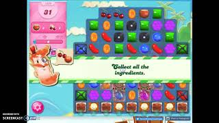 Candy Crush Level 1639 Audio Talkthrough, 1 Star 0 Boosters