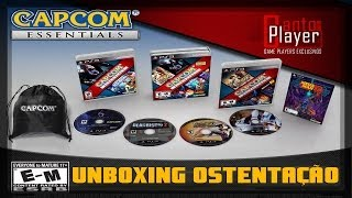 Unboxing Capcom Essentials Playstation 3 - 5 Jogos + Mochilinha Capcom