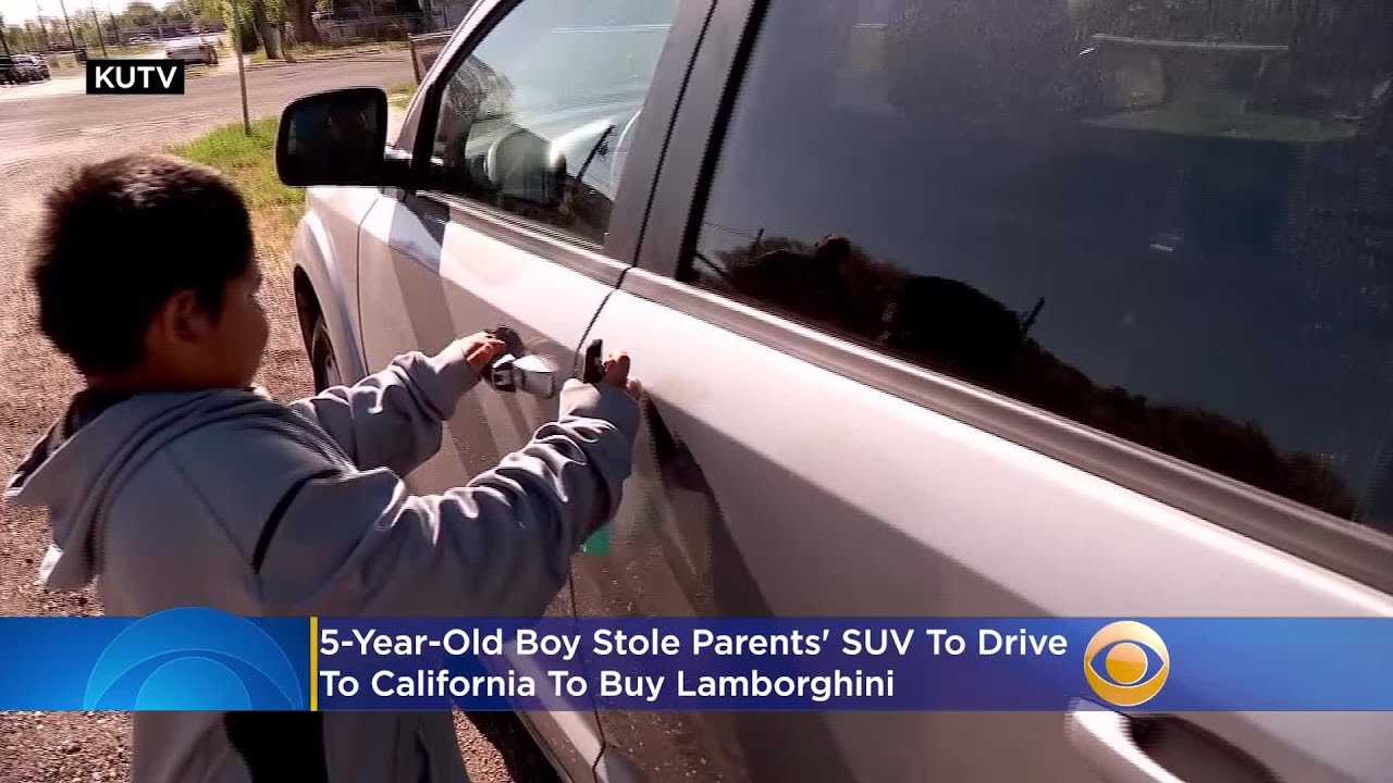 'Police Say I Drive Good': Offers Pour In For 5-Year-Old Boy Who Stole Parents' SUV T