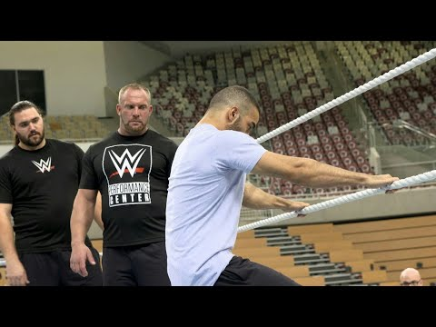 Inside look at WWE Day Two tryouts in Saudi Arabia.