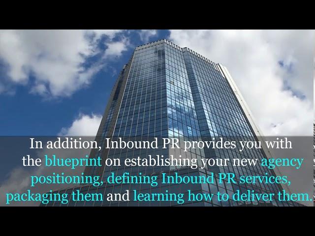 Inbound PR book for PR agencies by Iliyana Stareva Launching on 24 April 2018!