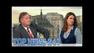 Good Morning Britain's Piers Morgan and Susanna Reid clash in wolf-whistling debate during tense ...