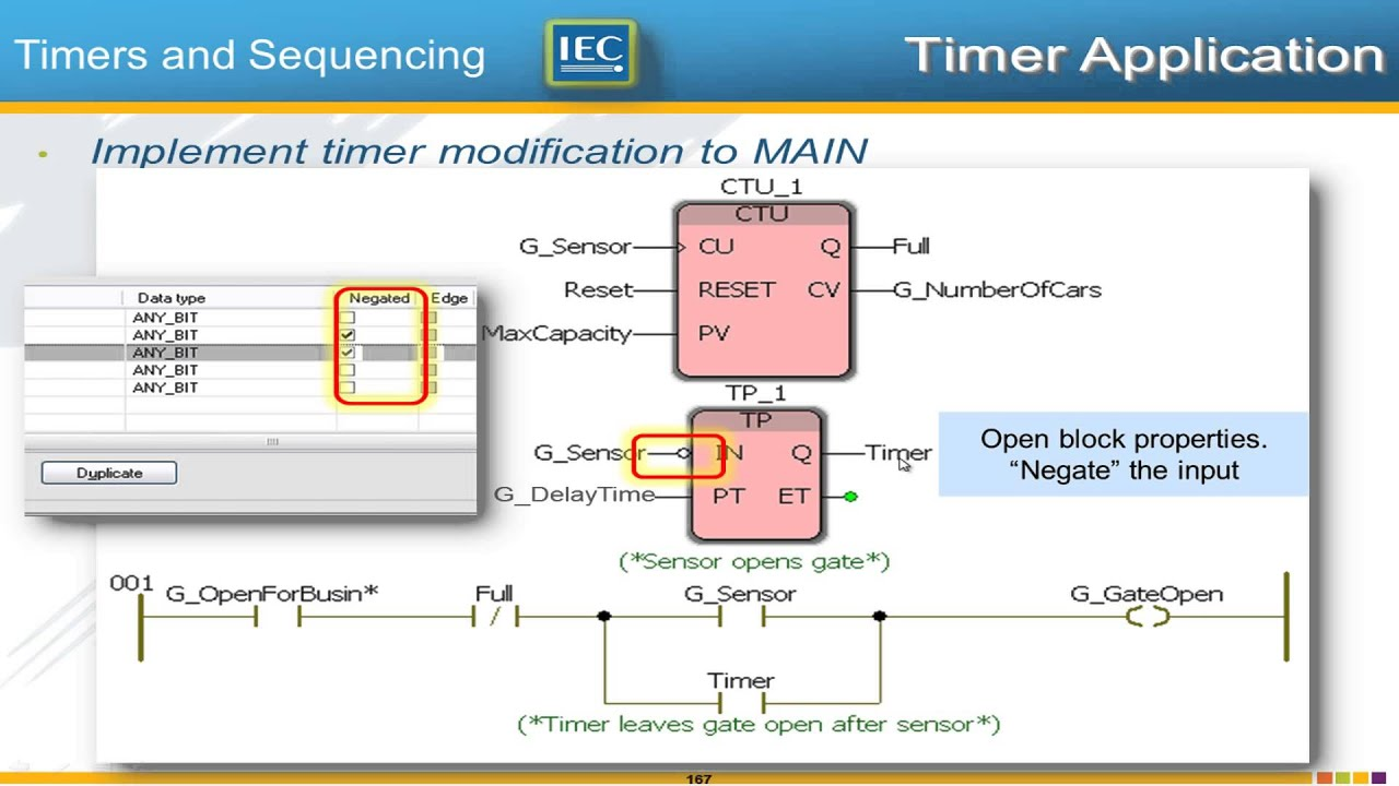 3 6 Timers & Sequencing (IEC 61131-3 Basics with MotionWorks IEC)