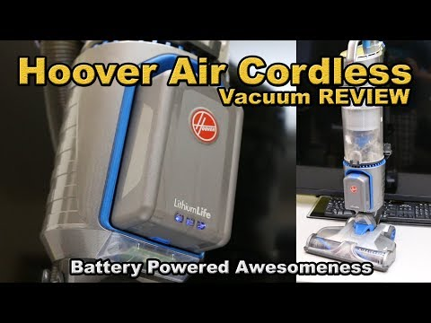 HOOVER AIR CORDLESS VACUUM REVIEW