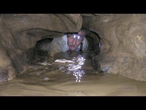 Stalagmites Point to Caves' Shaky History