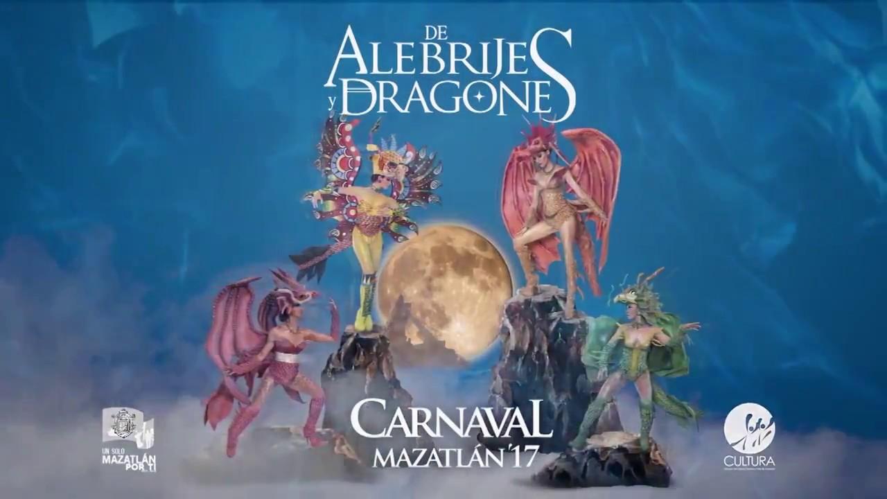 Luz y fiesta junto al mar en el Carnaval Mazatlán 2017