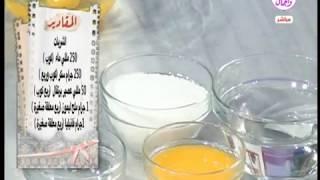 حلواني العرب| 15- 9 -2018 الشيف قدري كيفية عمل التورت الاسبونج العادي