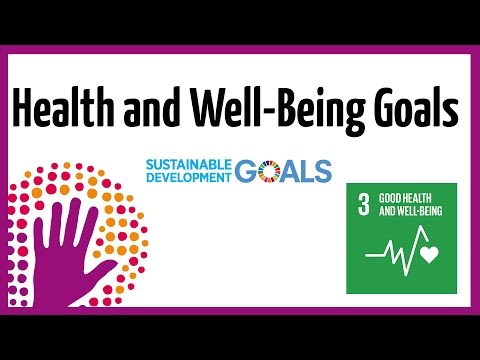 Good Health and Well-Being Goals