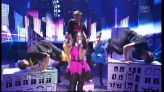 "Getter Jaani ""Rockefeller Street"" 2011 Eurovision ESTONIA  (II SEMI-FINAL)"