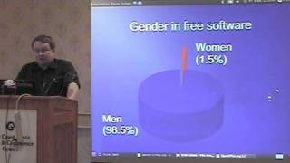 Bruce Byfield - Sexism in Open Source Software @ COSSFest 2010