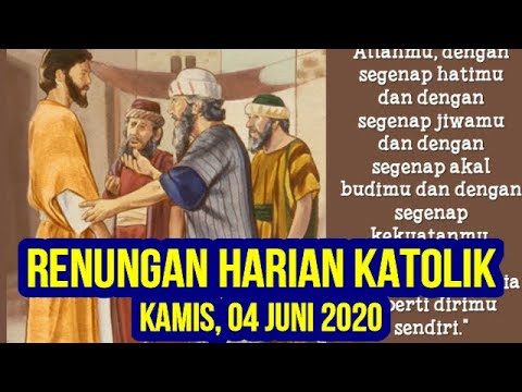 Renungan Harian Katolik, Kamis 16 Juli 2020 from YouTube · Duration:  8 minutes 24 seconds