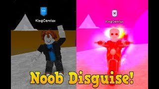 TROLLING AS A NOOB IN SUPER POWER TRAINING SIMULATOR! (ROBLOX)