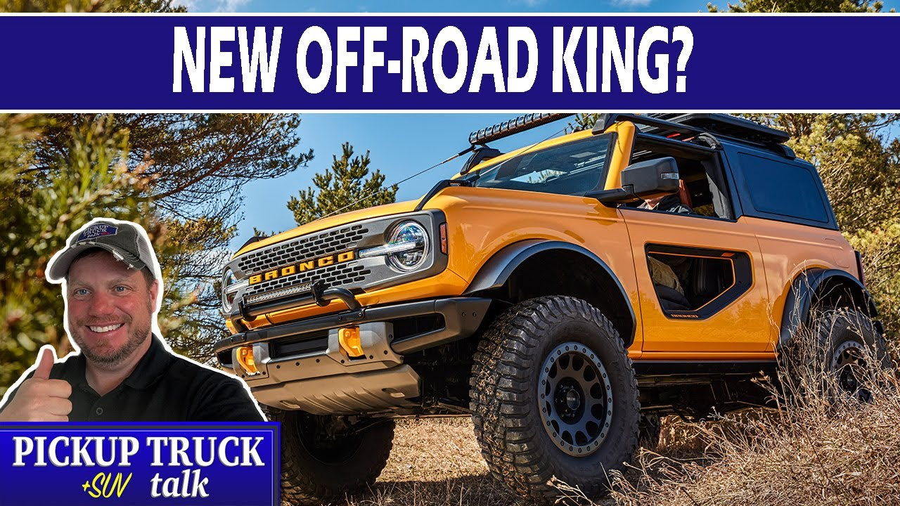 FINALLY! 2021 Ford Bronco Official Details like New Sasquatch Package!