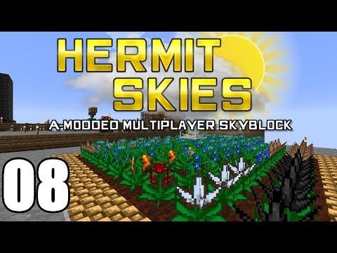Hermit Skies 08 | Inferium Farming | Modded Minecraft Project Ozone Lite