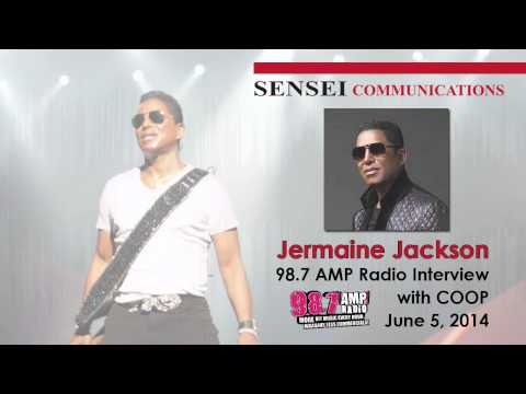 Jermaine Jackson Interview on AMP Radio Detroit with COOP   June 5, 2014