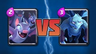 Which One Should You Use in Your Deck? - Bats VS Minions Comparison | Clash Royale