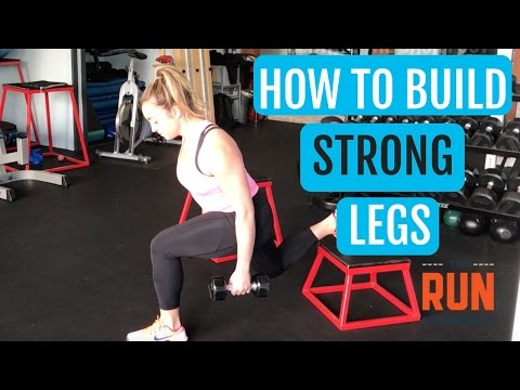 Leg Strength Training For Runners | How To Build Strong Legs