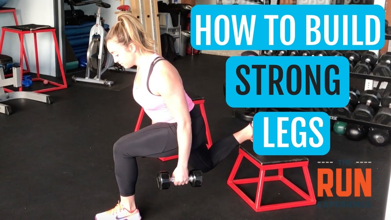 How to build leg strength at home