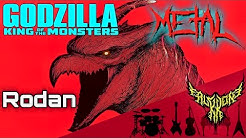 Godzilla: King of the Monsters - Rodan 【Intense Symphonic Metal Cover】