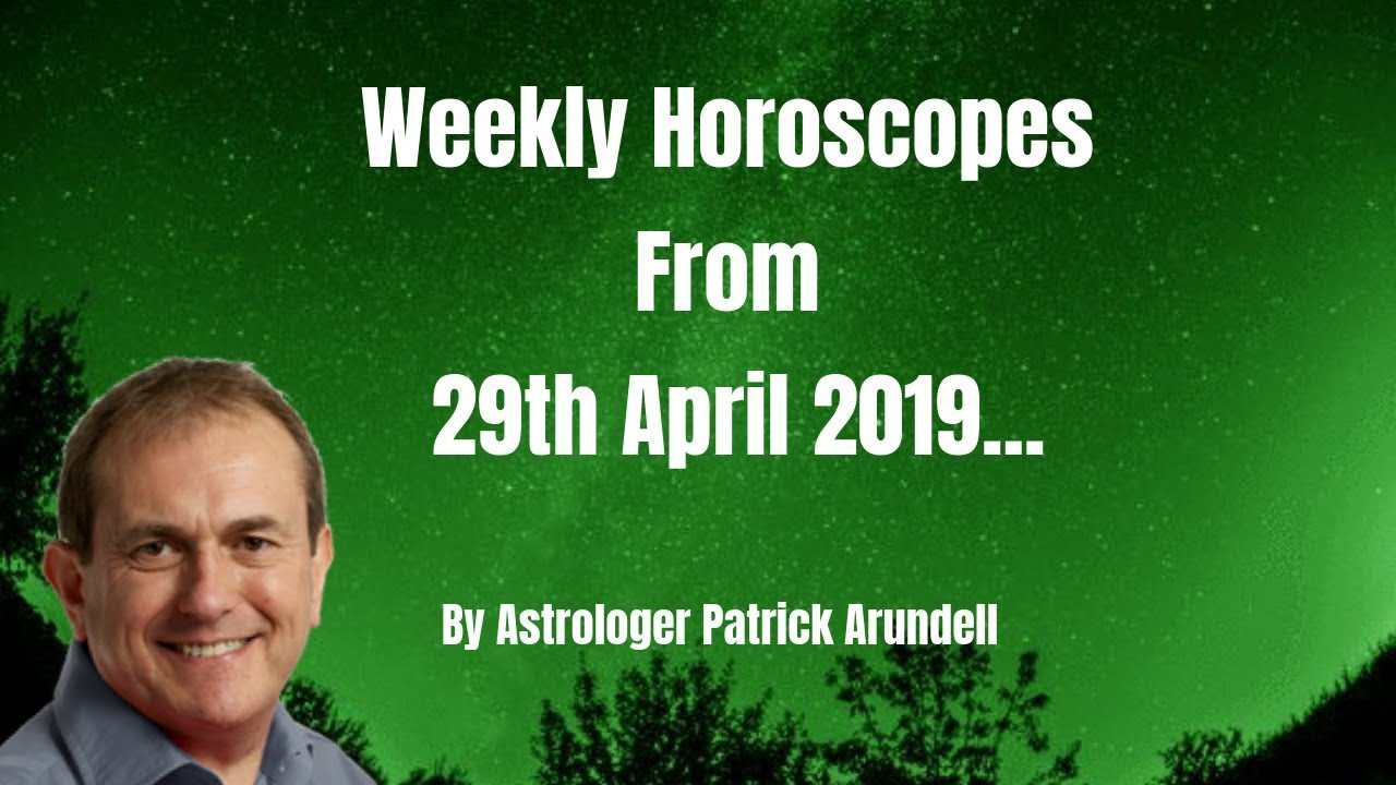 Weekly Horoscope from 29th April Intro